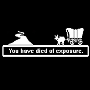 Oregon Trail: You Have Died of Exposure