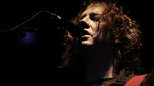 The Evil Genius at Work: Kevin Shields live with My Bloody Valentine, 2008 (Photo by Flickr user NRK P3)
