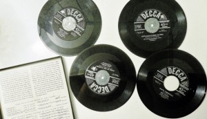 "An early ""Record Album.""  In this case, Bing Crosby's White Christmas. Click to buy."
