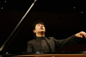 Lang Lang at the piano.